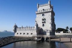 De Toren van Belem Stock Foto's