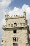 De Toren van Belem, een Unesco-Plaats van de Werelderfenis, in Lissabon/Lissabon Portugal royalty-vrije stock fotografie