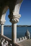 De Toren van Belem, Lissabon stock fotografie