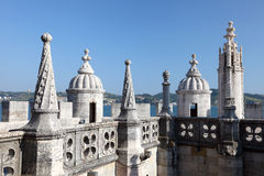 De toren van Belem in Lissabon Royalty-vrije Stock Afbeelding