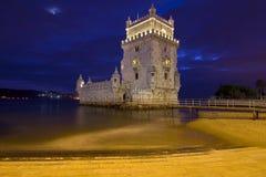 De Toren van Belem - Lissabon Royalty-vrije Stock Fotografie