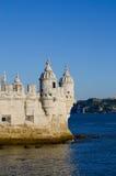 De toren van Belem - Lissabon - Portugal Royalty-vrije Stock Afbeeldingen