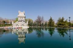 De Toren van Belem in Madrid Royalty-vrije Stock Afbeeldingen