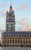 De toren van Belfort, Gent Stock Foto