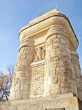 De Toren van Bismarck van Stuttgart Stock Afbeeldingen