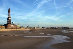 De Toren van Blackpool - Blackpool - Engeland Stock Foto's