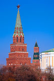 De toren van Borovitskaya royalty-vrije stock foto