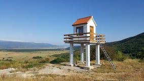 De toren van de brandobservatie Stock Foto's