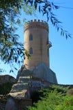 De toren van Chindia in Targoviste, Roemenië Royalty-vrije Stock Afbeeldingen