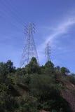 De toren van Clectric Royalty-vrije Stock Foto's