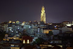 De toren van Clerigos Stock Fotografie