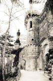 De toren van DAregaleira van Quinta (sepia) Stock Afbeelding