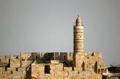 De Toren van David royalty-vrije stock fotografie