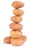 De toren van de aardappel Stock Foto's