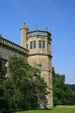 De Toren van de Abdij van Lacock Stock Foto