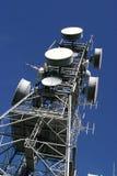 De toren van de antenne stock foto's
