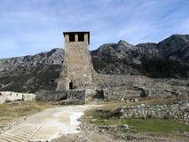 De toren van de berg stock afbeeldingen
