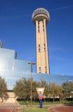 De Toren van de bijeenkomst in Dallas stock afbeeldingen