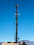 De toren van de celtelefoon Royalty-vrije Stock Foto's
