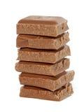 De toren van de chocolade Stock Foto