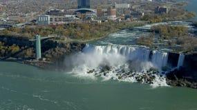 De toren van de de dalingenobservatie van Niagara royalty-vrije stock afbeeldingen