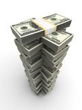 De Toren van de dollar Royalty-vrije Stock Foto's