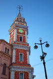 De Toren van de douma, Nevsky 33, St. Petersburg Stock Afbeelding