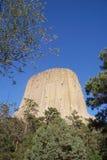 De Toren van de duivel Stock Afbeeldingen