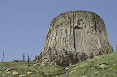 De Toren van de duivel Stock Foto