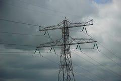De toren van de elektriciteit Royalty-vrije Stock Afbeeldingen