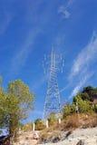 De toren van de elektromachtslijn Stock Fotografie