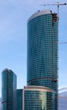 De Toren van de federatie, Moskou. Stock Afbeeldingen