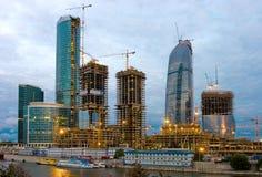 De Toren van de federatie, Moskou. Royalty-vrije Stock Fotografie