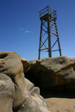 De toren van de haai Stock Foto's