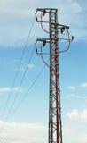 De toren van de hoogspanning Stock Afbeelding