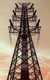 De toren van de hoogspanning Stock Fotografie