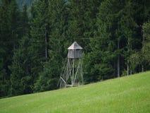 De toren van de jacht stock afbeeldingen