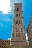 De toren van de kathedraal van Florence Royalty-vrije Stock Afbeelding