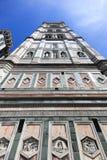 De Toren van de Kathedraal van Florence Stock Foto's