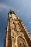 De toren van de kerk Stock Afbeeldingen
