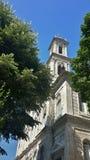 De toren van de kerk Stock Afbeelding