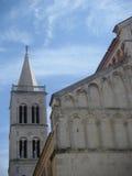 De toren van de kerk   Stock Fotografie