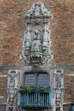 De Toren van de klokketoren in Brugge, België Stock Foto's