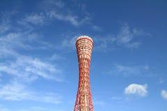 De toren van de Kobehaven in Kobe, Hyogo Stock Fotografie