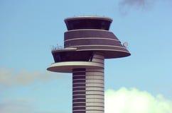 De toren van de luchthaven stock afbeeldingen