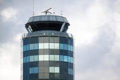 De toren van de luchtverkeerscontrole stock foto