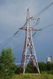 De toren van de machtslijn Stock Fotografie