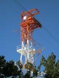 De toren van de machtstransmissie Royalty-vrije Stock Afbeelding
