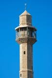 De toren van de moskee stock foto