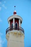De toren van de moskee Stock Afbeeldingen